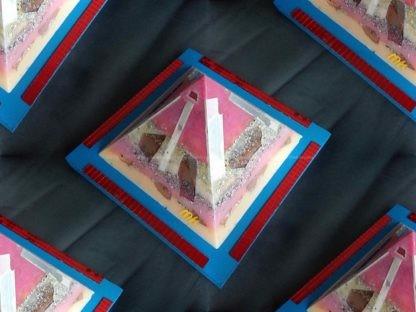 Pyramid orgonite 17 Multi Flavour