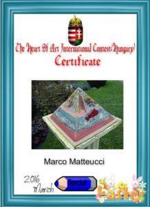 Pyramid Orgonite AmsterDhalia 24 cm award