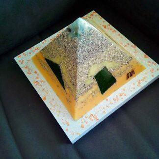 Pyramid Orgonite 17 Faith