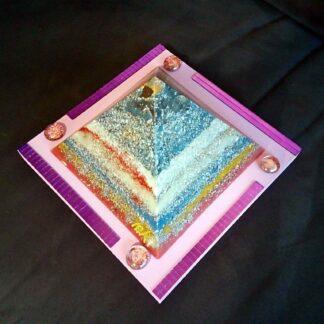 Pyramid Orgonite Inside Eye