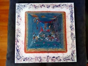 Orgonite pyramid 19 May -6