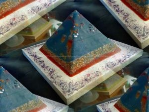 Orgonite pyramid 19 May -7