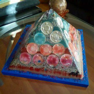 Orgonite pyramid 24 Full Metal Jacket
