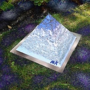 Orgonite Pyramid Vegan Pride