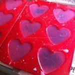 Orgonite Vegan Heart 02, ecosojawas, kristallen, mineralen, metalen.