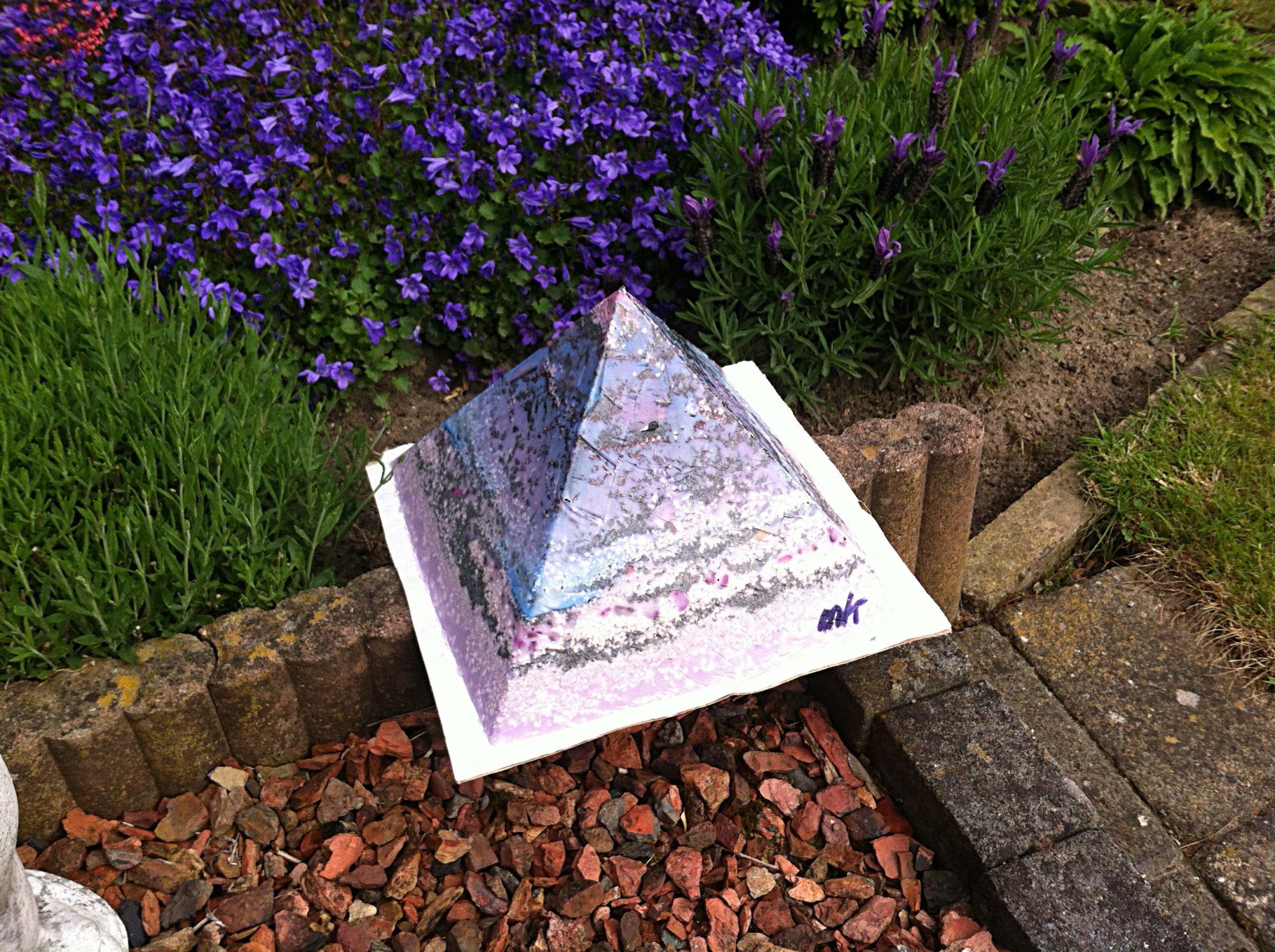 orgonite pyramid how to make