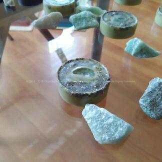 Orgonite Pills Green Quartz