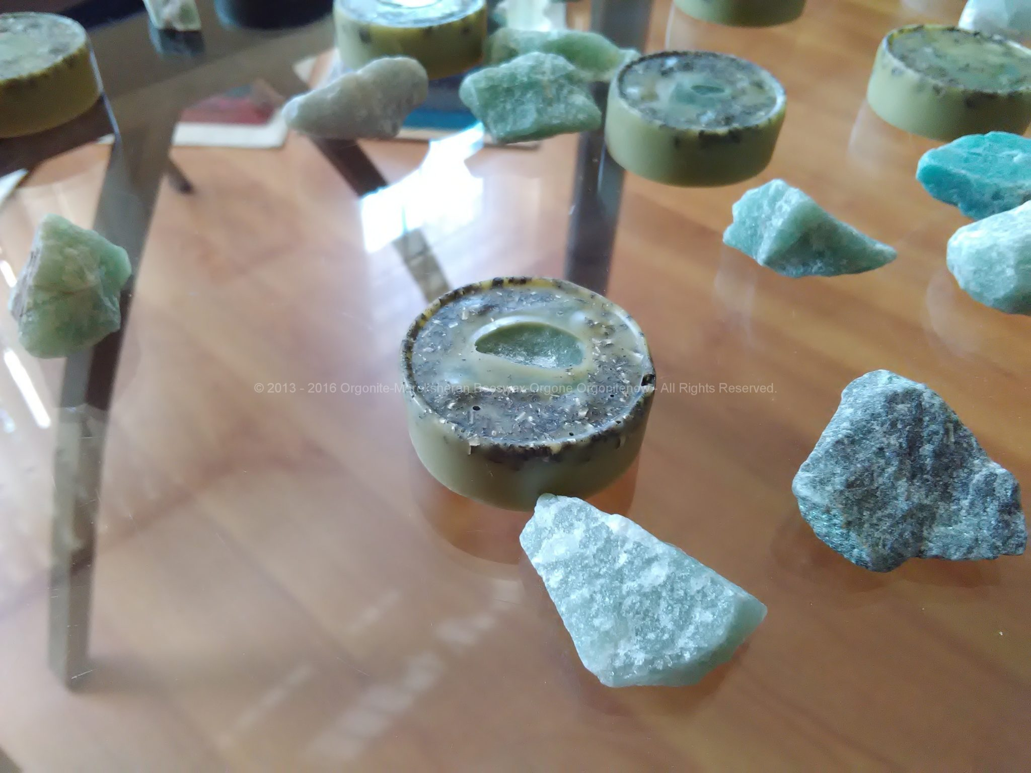 Orgonite Pills Green Quartz