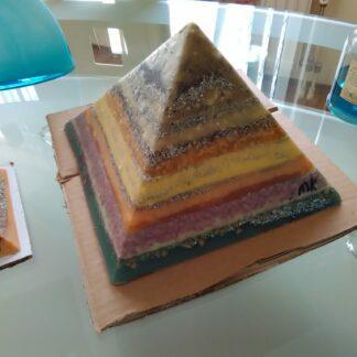 Bruxelles pyramid orgonite 24 cm