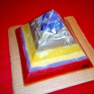 God Save The Queen 17 cm Piramide orgonite