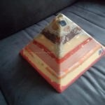 New Years Eve Full Moon 24 K Pyramid Orgonite