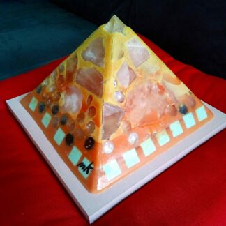 European Elections 2019 24 cm beeswax pyramid orgonite