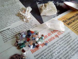 Bergkristal en mineralen