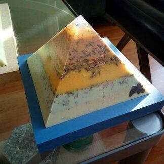 Groen Droom Opaliet piramide