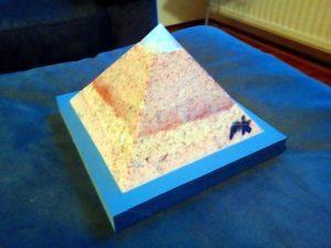 Roze Droom Opaliet piramide