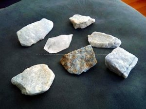 Blauwe Kwarts en Bergkristal