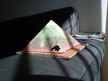 Selenium 13 cm piramide Orgonite