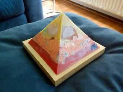 Tea ( Yellow Rose ) 13 cm pyramid