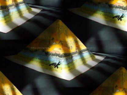Prayers 24 cm beeswax pyramid orgonite